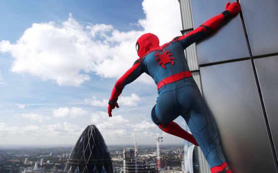 мужчина, паук, return, домой, homecoming, you,