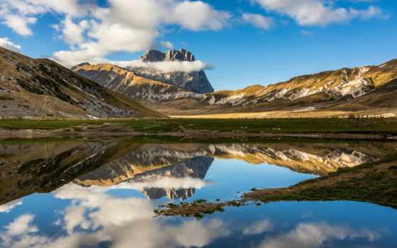 природа, nazionale, parco, gran, della, monto