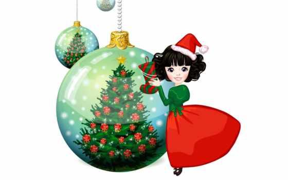 christmas, tree, decorating, resolution, bowl, fae, ъѕеўшыюякћйњъиспыивфятди, девочка, ball,
