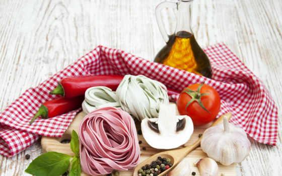 gambar, makanan, лада, minyak, hijau, tomat, latar, layar, макароны, belakang,