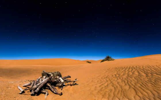 пустыня, сахара, фоны, ночь, небо, звезды, теме,