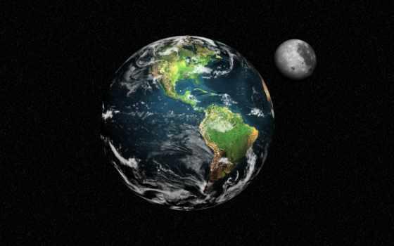 land, planet, cosmos, луна, бесплатные, космоса,