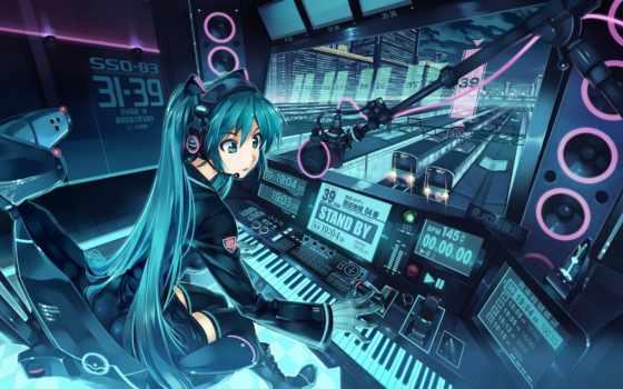 anime, ноутбук, desktop, pictures,