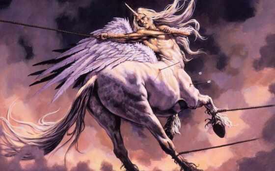 кентавры, девушка, centaur, единороги, единорог, sims, темы, эти, пегас, art,