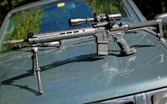 оружие, винтовка, пистолет, разделе, снайпер, патроны,