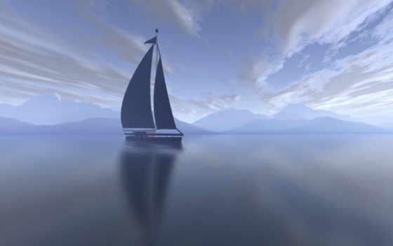 яхта Фон № 4368 разрешение 1920x1200