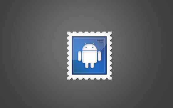 android, stamp, frame, logo