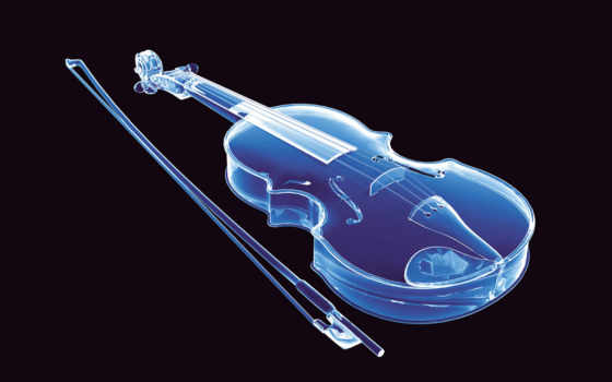 violin, neon, abstract, desktop,