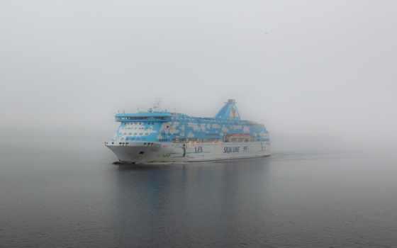 море, hdr, корабль
