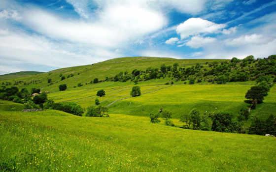 fondos, pantalla, холмы, зеленые, fondo, escritorio, naturaleza, paisajes, случайные, campo,