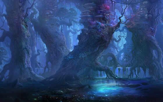 фэнтези, лес