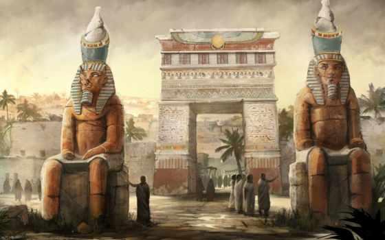 египет, арка