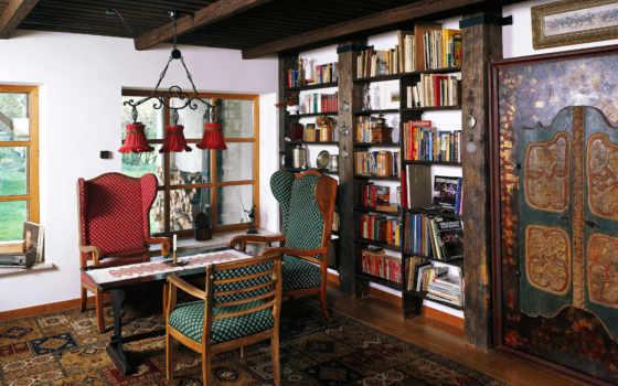 interer, интерьеры, старинный, dizain, интерьера, старинные, стиле,