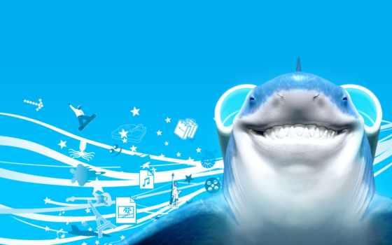 акула, free, компьютер