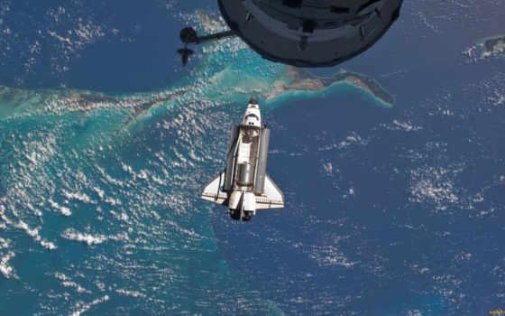 космос, космоса, shuttle, daler, море, using, land, nasa, международный, июл, атлантис,