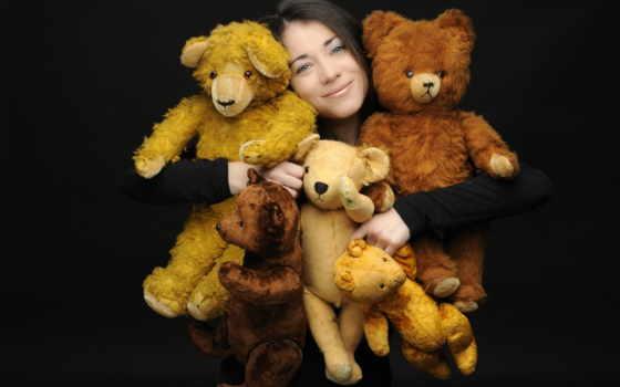 игрушки, how, devushki, мягкие, работы, плюшевые, гормона, инстинкта,