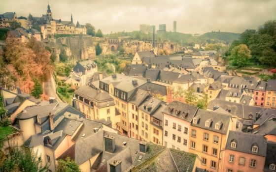 luxembourg, дома, картинка,