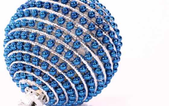 christmas, ball, шар, синими, новый, бусами, год, bauble, free, картинка, windows, theme, desktop, noel, blue, компьютер, like,