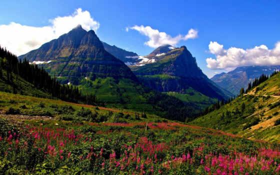 природа, mount, горы