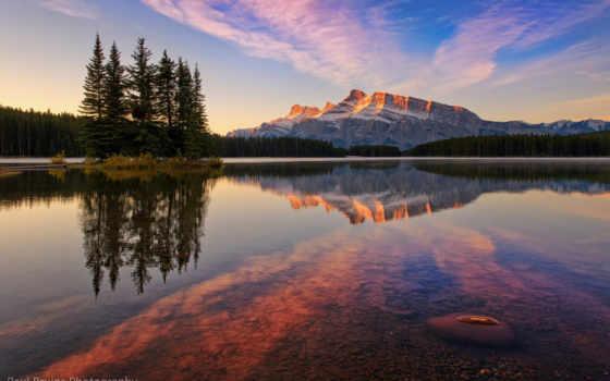 озеро, jack, канада