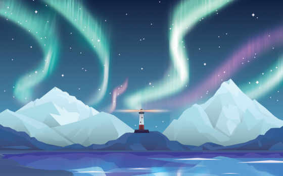 aurora, desktop, lighthouse, mac, resolutions, iphone,