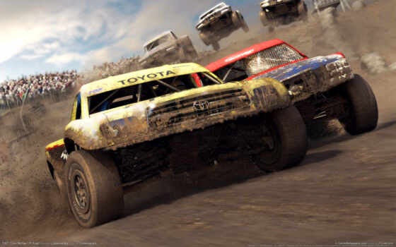 dirt, игры, colin, mcrae, game, скорость, адреналин, off, road, games, cars, компьютерные, видео,