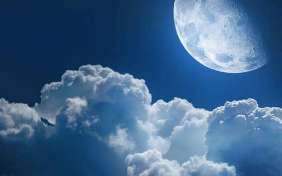 луна, космос, planet