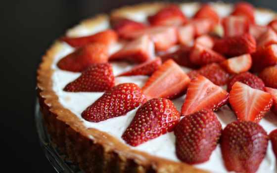 торт, сладкое, десерт, клубника, ягоды, торты, еда,