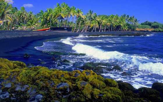 пляж, tenerife, природа, black, desktop,