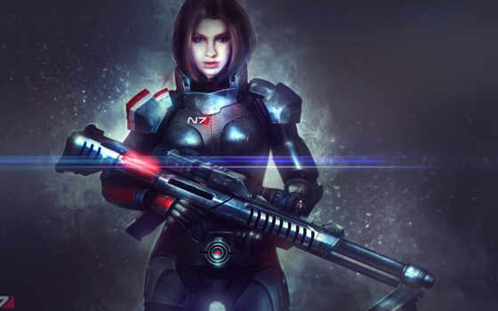 , widescreen, fantasy, quinn, Mass Effect, Mass