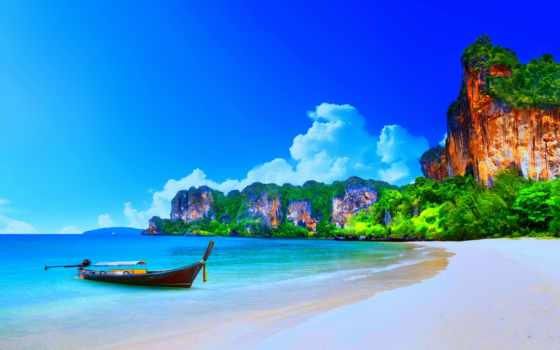 пляж, summer, ocean