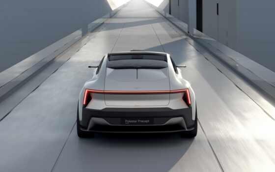 polestar, precept, concept, electric, car, модель, company, third, submit, будущее