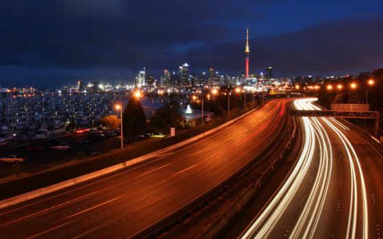 огни, яхты, ночь, мегаполис, шоссе, картинка, города, iphone, timelapse, melbourne, source, категория,