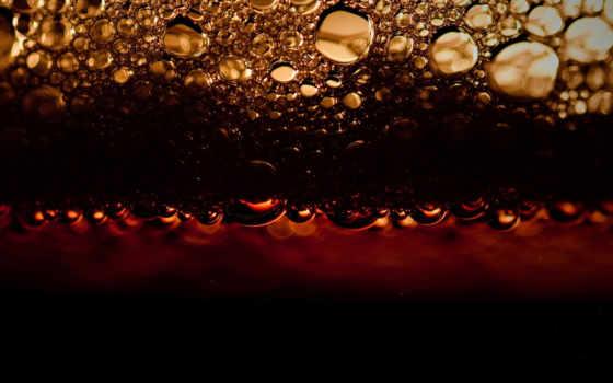 напиток, kola, pena, пузыри,