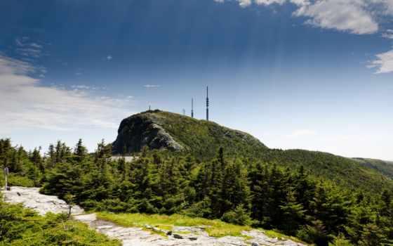 природа, hill, горы, landscape, trees, небо, excelent, пейзажи -,