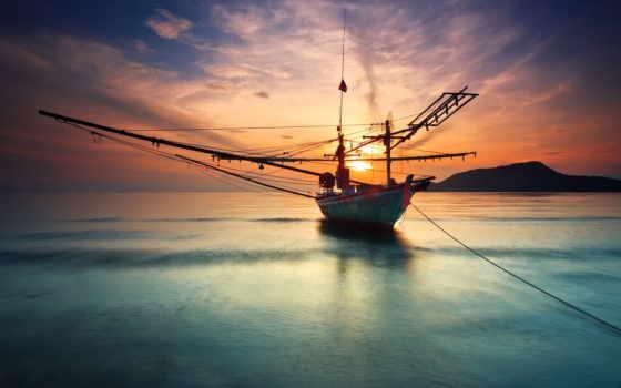 море, water, корабль