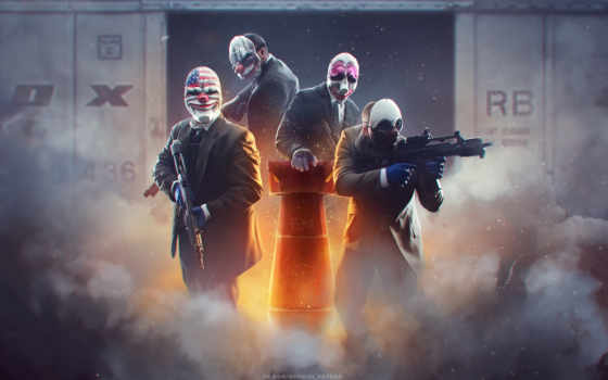 payday, overkill, dallas, chains, текст, софт, houston, года, волк, вульф,