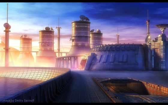 будущего, города,