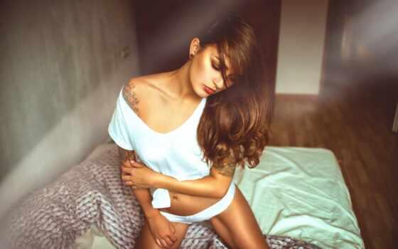 модель, фотограф, nightwear, мэнди, девушка, panties, white, deep, nikla, thal