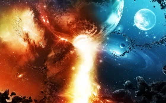 огонь, небо, cosmos, планеты, метеориты, созвездия, камни, красиво, фантастика, звезды, медитация,