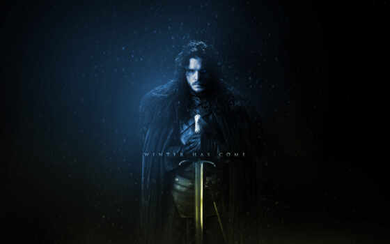 jon, снег, game, thrones, winter, season,
