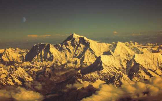 everest, mount, горы, nepal, гора, mt,