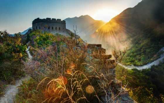 china, стена, great