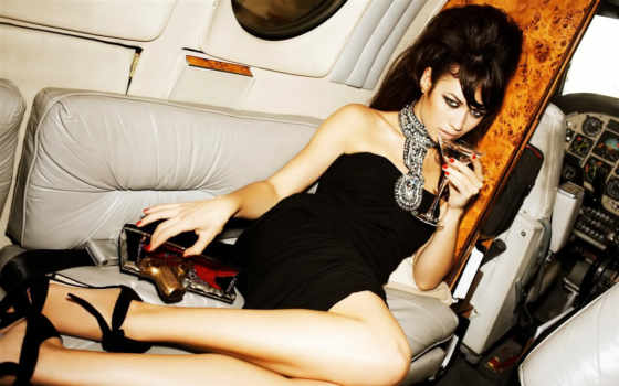 платье, чёрное, brunette