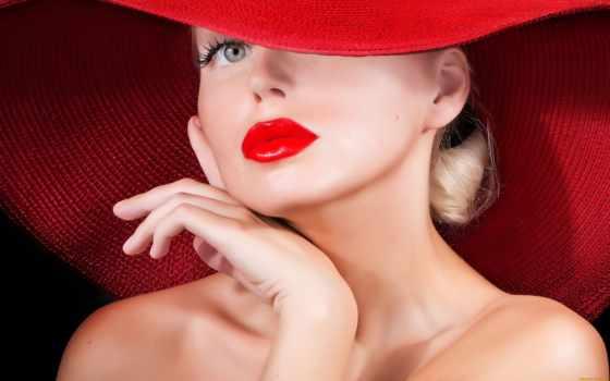 шляпе, стоковое, красной, lady, женщина, иду, blonde, скачайте, фся, эти, фотографию,