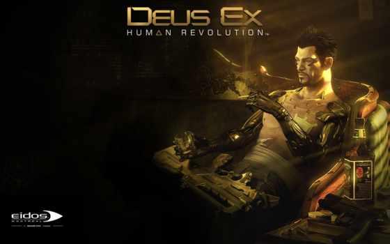 deus, human, revolution, игры,