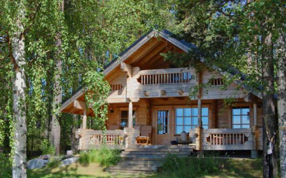 дом, природа