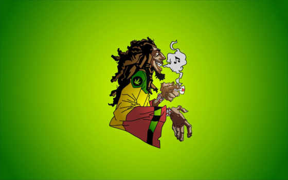 marley, bob, smoke, marijuana, caricature, music, reggae, dreadlocks, rocksteady, jamaica, ska,