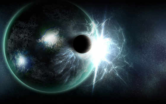планеты, космос, поле