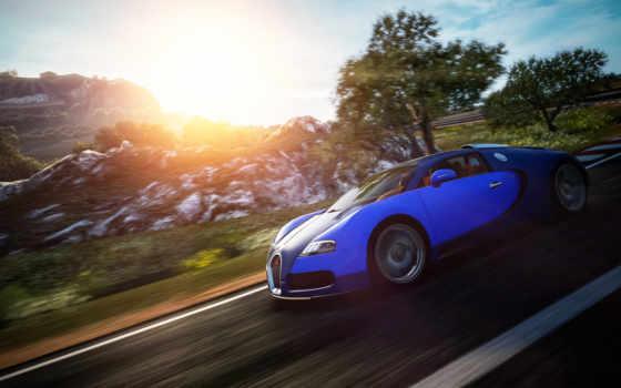 bugatti, veyron, gran